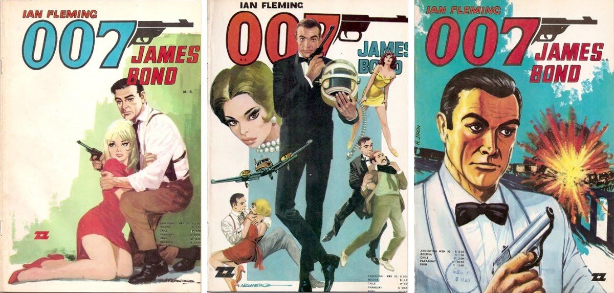 Cómics de James Bond en español - Archivo 007