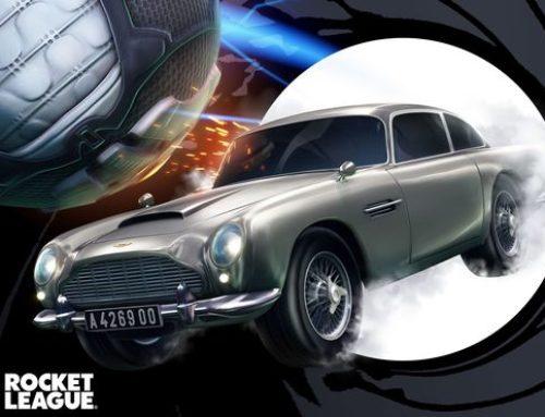 El Aston Martin DB5 en Rocket League