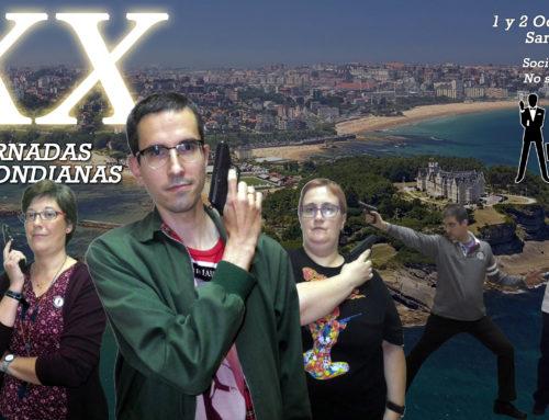 XX Jornadas Bondianas: 1 y 2 de octubre
